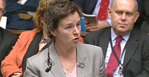 Mary Creagh MP in Parliament, Shlurder