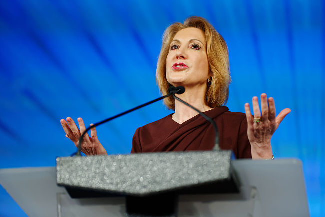 Carly Fiorina at Southern Republican Leadership Conference, May 2015 by Michael Vadon