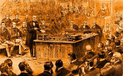 Gladstone debate on Irish Home Rule April1886