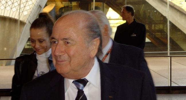 Sepp Blatter at Fifa Congress Sydney in May 2008 by AsianFC