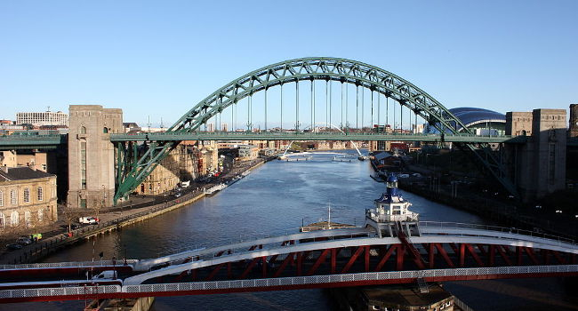 Tyne Bridge, January 2012 by Neil Turner