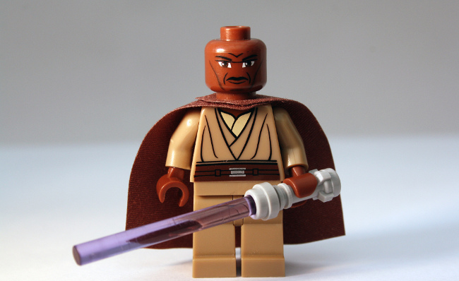 Mace Windu, March 2012 by Chris Isherwood