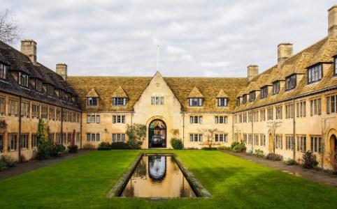 Nuffield College, Oxford, February 2015 by Martijn van Sabben