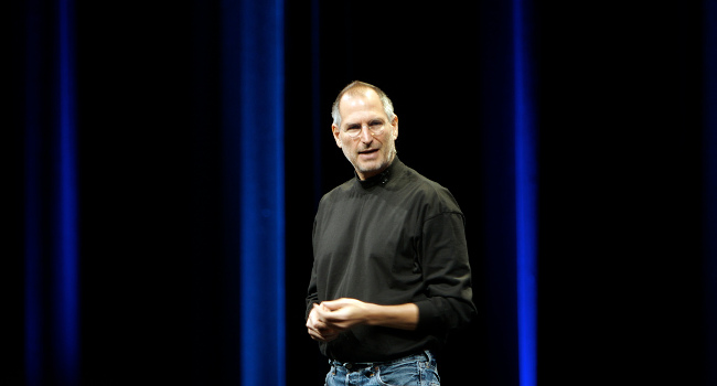 Steve Jobs, at WWDC 2007, by Ben Stanfield