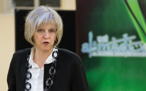 Theresa May visits Al Madina Mosque, February 2015 by the Home Office