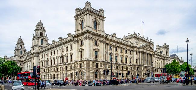 Treasury, Westminster, April 2012 by Kurt Bauschardt