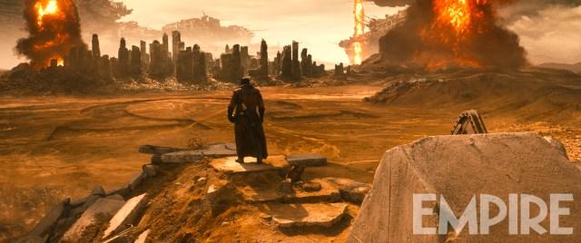 Darkseid's desert signature from Batman v. Superman: Dawn of Justice via Empire