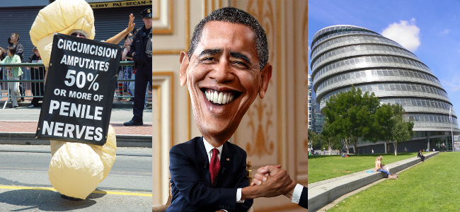 RD E42 Circ, Barack Obama and London City Hall