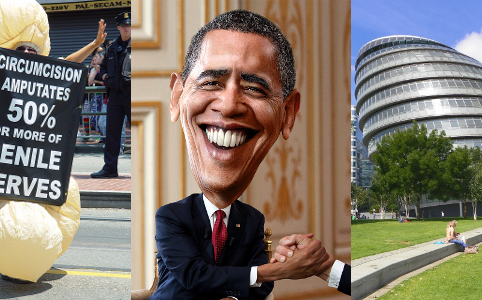 RD E42 Circ, Barack Obama and London City Hall