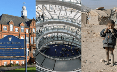 RD E44, Alleyn's School, London City Hall, Syrian Refugee
