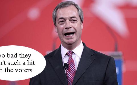 Nigel Farage Ukip punchup