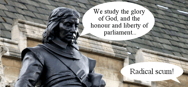 Oliver Cromwell on Brexit