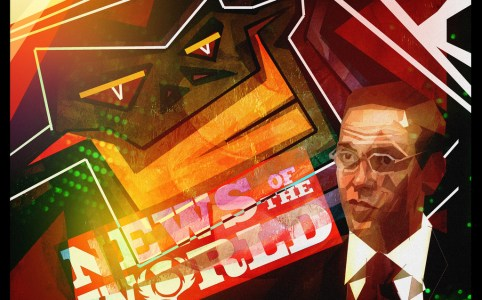 James Murdoch Closes News of the World after Phone Hacking Scandal