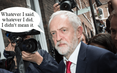 Right Dishonourable Corbyn Back For Good