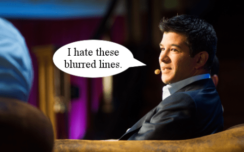 Travis Kalanick blurred lines