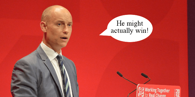 Stephen Kinnock Corbyn might win