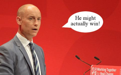 Stephen Kinnock Corbyn might win