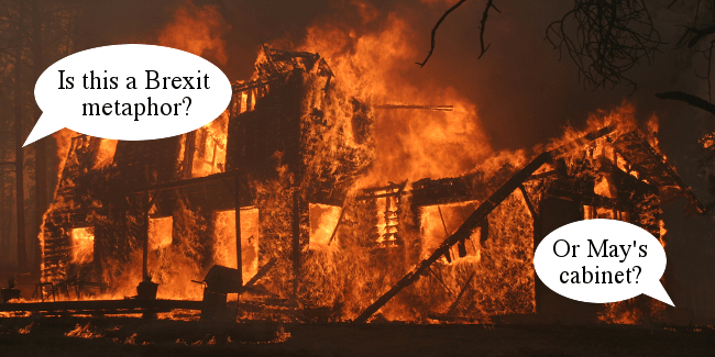 RD 113 Burning Brexit Cabinet