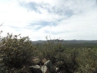 View from Monument Ridge, south of White Spar