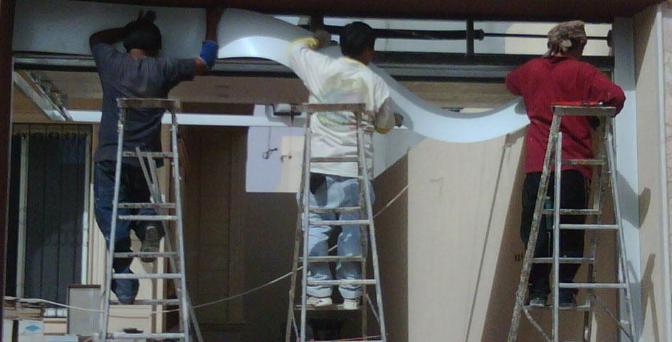 diy garage door insulation