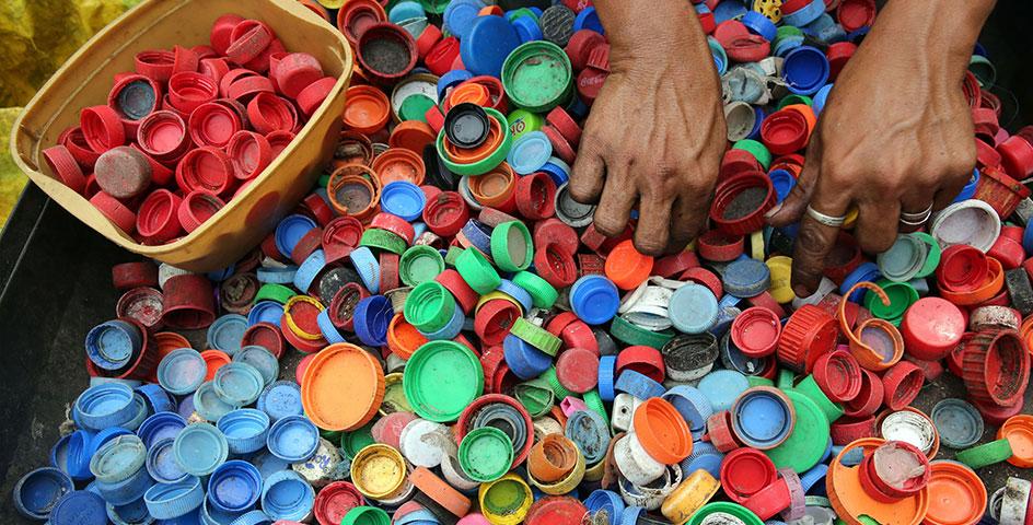 recycling hub garage