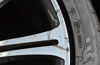 Curbed rim needs a wheel repair shop