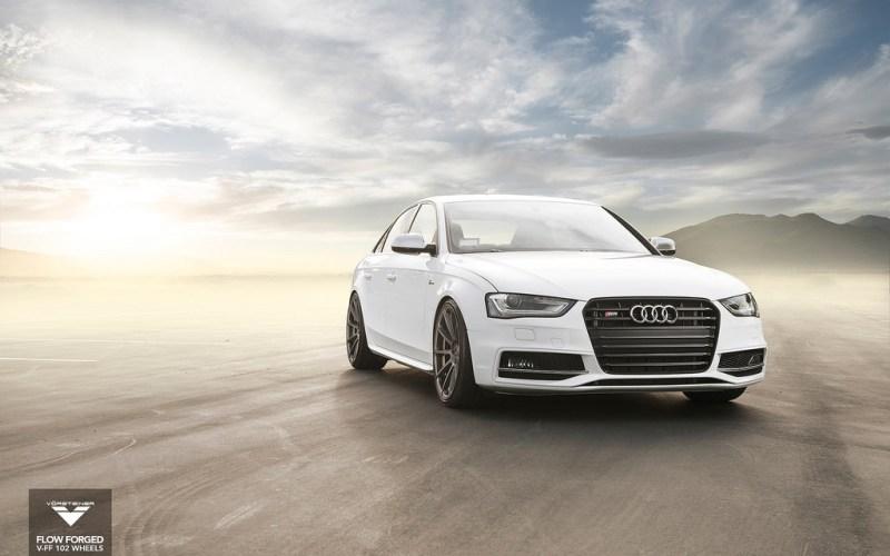 White Vorsteiner Audi S4