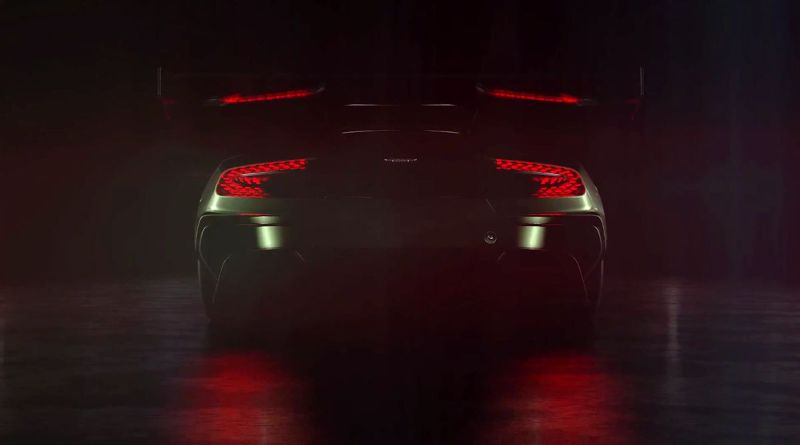 Aston Martin Vulcan Rev Shooting Flames
