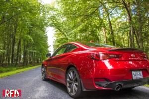 2018 Infiniti Q60 Red Sport 400 AWD