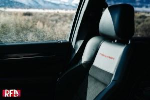 Jeep Grand Cherokee Trailhawk passenger seat