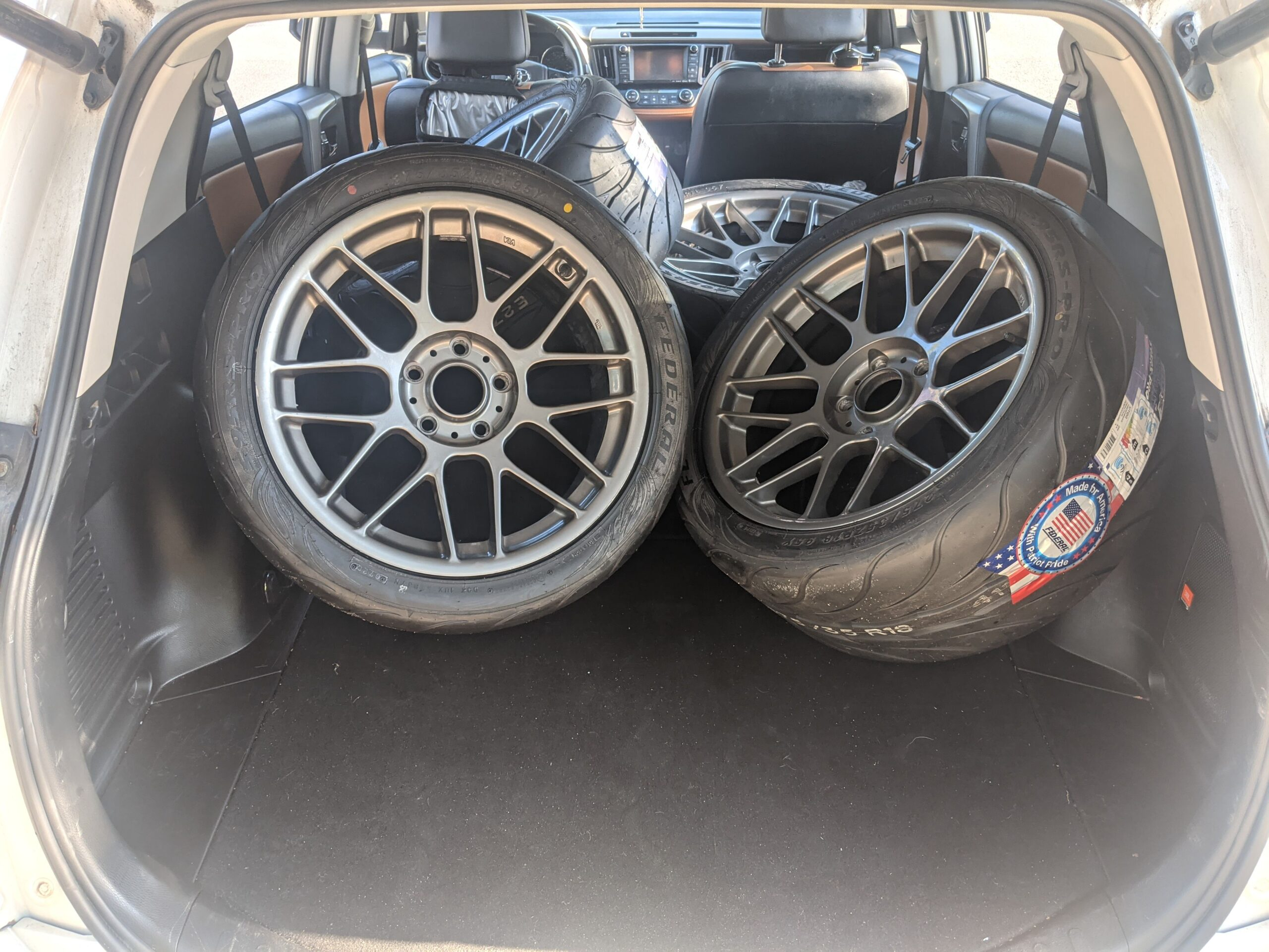 Apex ARC8 Wheels and Federal 595RS-Pro Tires