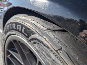 E46 M3 Tire Rubbing