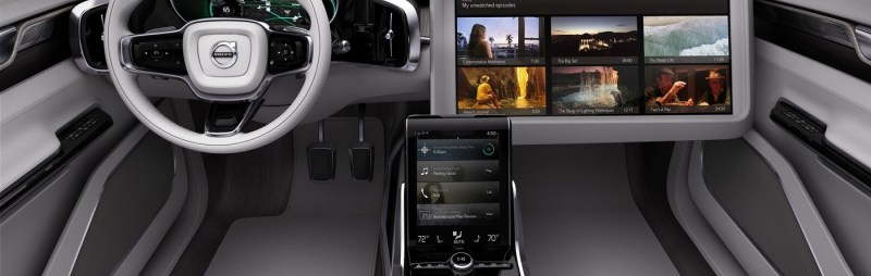 Volvo CES Interior