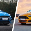 Ford Focus RS and ST