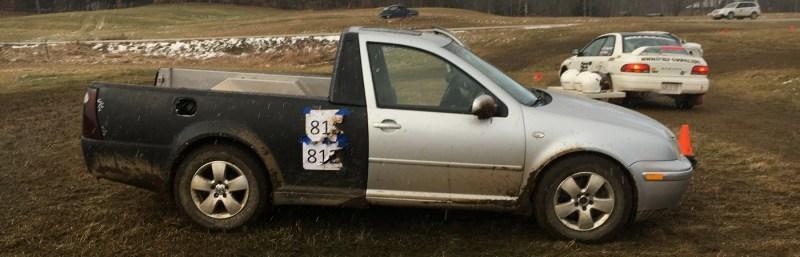 Smyth Ute at rallycross