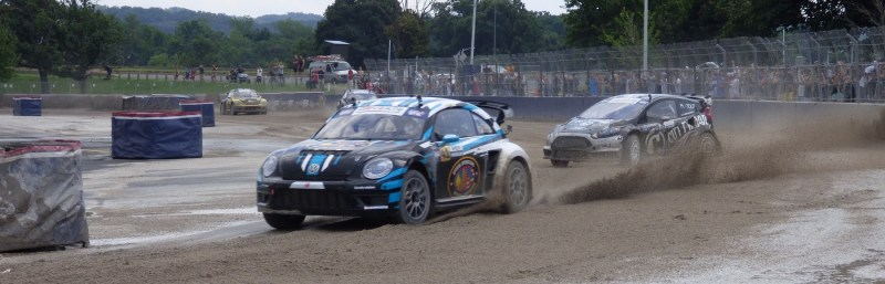 Scott Speed leading Red Bull GRC