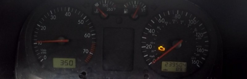 Volkswagen Jetta check engine light