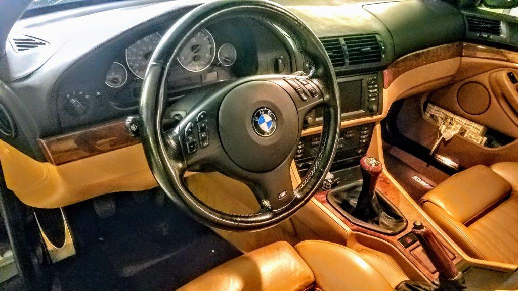 E39 M5 Leather Interior