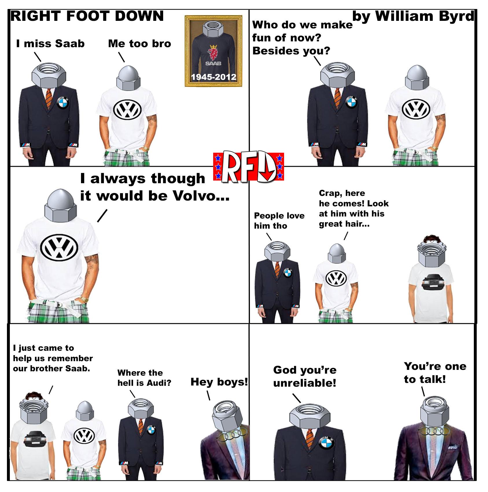 Right Foot Down Cartoons