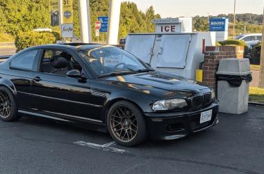 Josh's jet black 2003 BMW M3