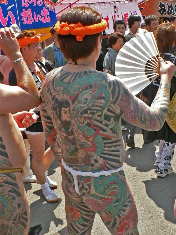 Tattoos in Anime and the Japanese Mafia