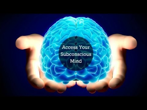 access your subconscious mind
