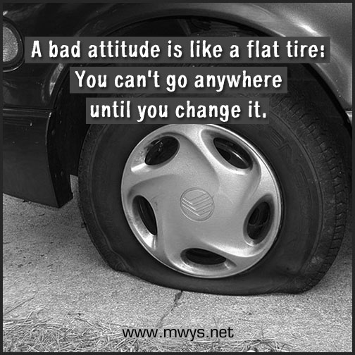 A-bad-attitude-is-like-a-flat-tire
