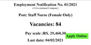 SCCL Staff Nurse Jobs