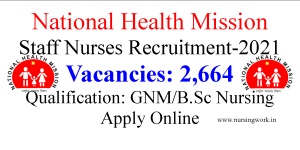 Nursing Job Opportunities in National Health Mission