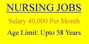 40000 salary staff nurse job opportunities