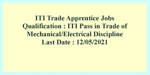 ITI Trade Apprentice Jobs in Rail India Technical and Economic Service 2021