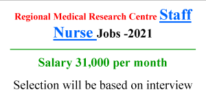 GNM ANM Nursing jobs with 31000 monthly Salary