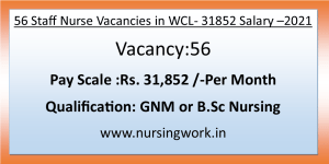 32000 SAlary GNM Bsc Nursing job opportunities