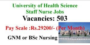 Staff Nurse jobs- 503 Vacancies